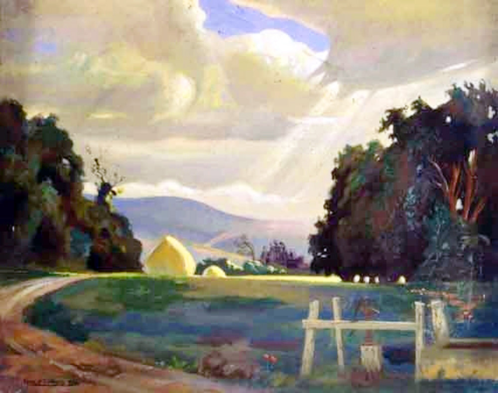 Light on the Haystacks Ernest Hayes
