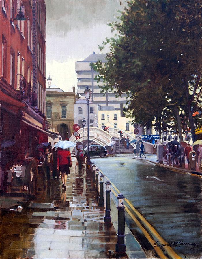 Ha'penny Bridge - Edward Freeney